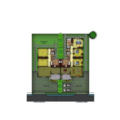 2 bedroom semi-detached